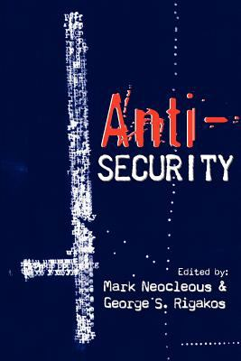 Anti-Security 9781926958149