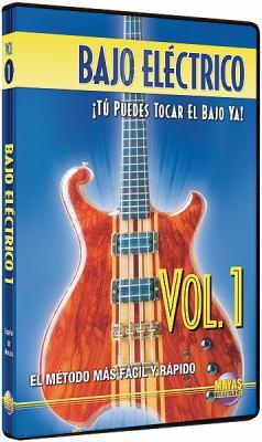 Bajo Elctrico, Vol 1: T Puedes Tocar El Bajo YA! (Spanish Language Edition), DVD 9781928827566