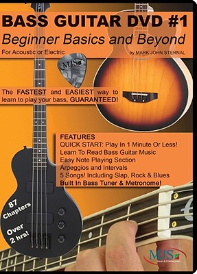 Bass Guitar DVD #1: Beginner Basics and Beyond