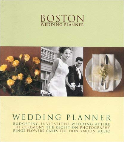 Boston Wedding Planner 9781928728023