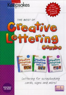 CD Creative Lettering Combo 9781929180325