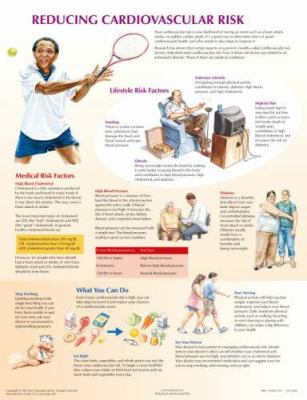 Cardiovascular Risk Chart 9781929007844