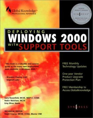 Deploying Windows 2000 with Support Tools 9781928994121