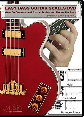 Easy Bass Guitar Scales DVD: Over 50 Common & Exotic Scales & Modes for Bass