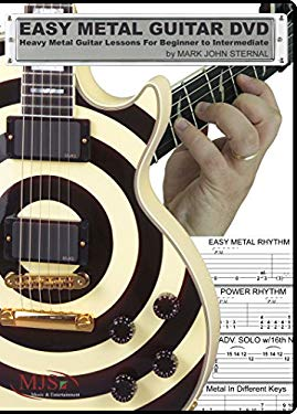 Easy Metal Guitar DVD: Heavy Metal Guitar Lessons for Beginner -Intermediate