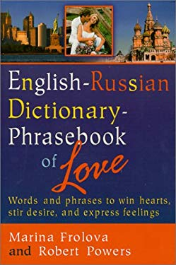 English-Russian Dictionary-Phrasebook of Love 9781929482016