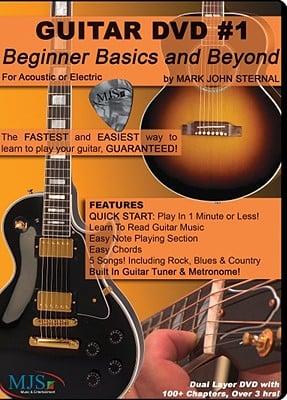 Guitar DVD #1: Beginner Basics and Beyond