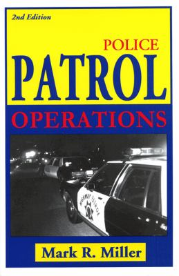 Police Patrol Operations 9781928916109
