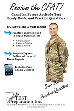 Review the CFAT: Complete Canadian Forces Aptitude Test Study Guide and Practice Test Questions