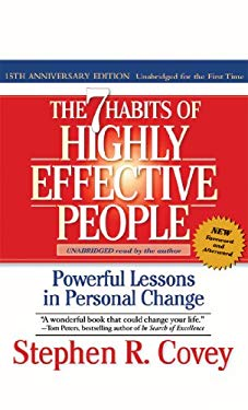 The 7 Habits of Highly Effective People (15th Anniversary Edition): Powerful Lessons in Personal Change 9781929494750