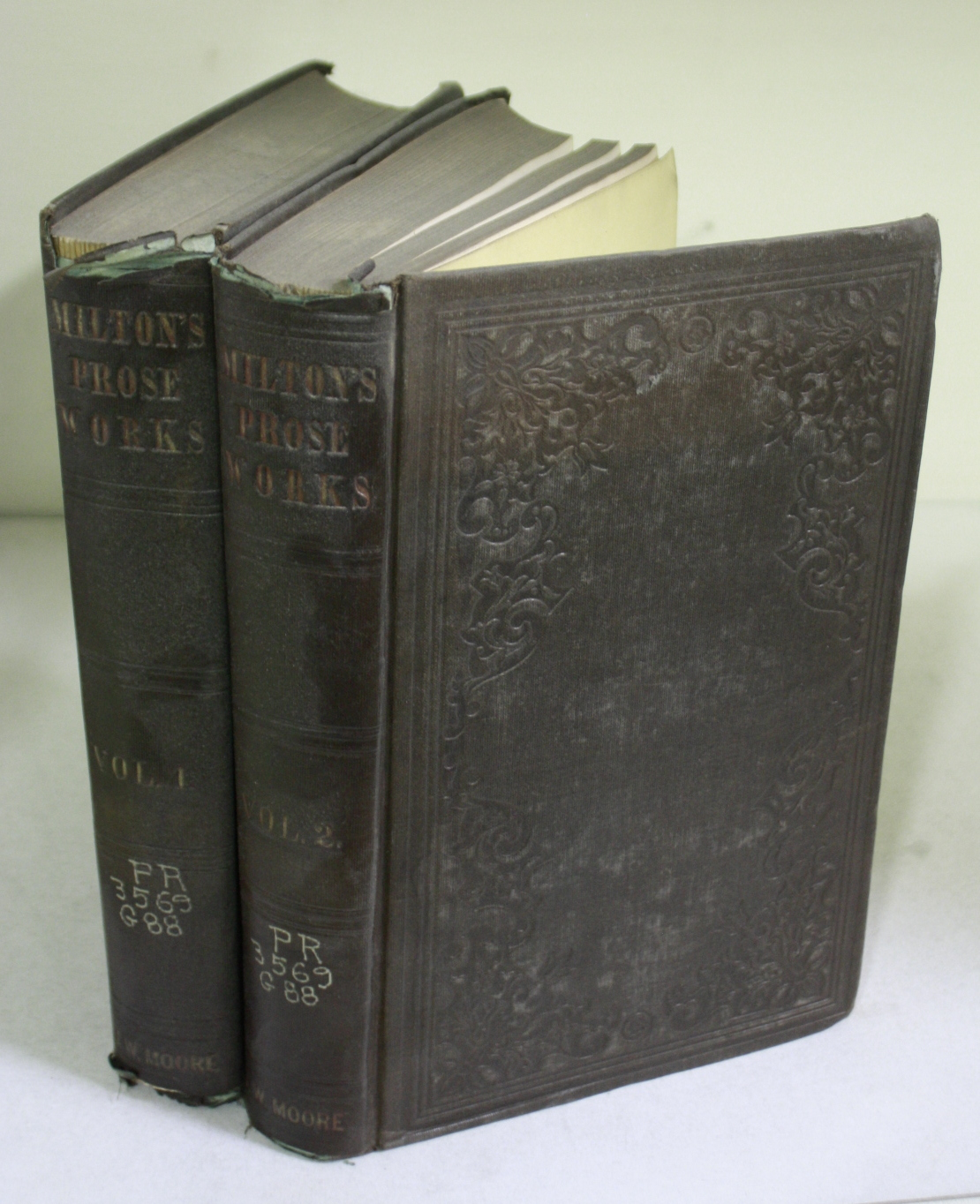 The Prose Works of John Milton : With a Biographical Introduction Volumes I and II