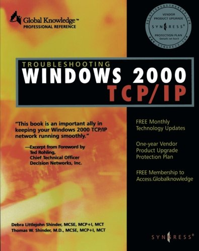 Troubleshooting Windows 2000 TCP/IP 9781928994114