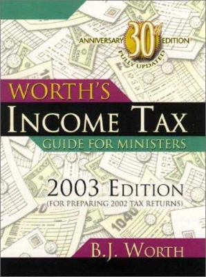 Worth's Income Tax Guide for Ministers 9781928915355