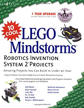 10 Cool Lego Mindstorm Robotics Invention System 2 Projects: Amazing Projects You Can Build in Under an Hour 9781931836616