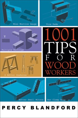 1001 Tips for Woodworkers 9781933502151