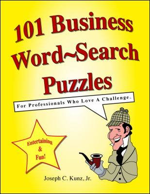 101 Business Word-Search Puzzles 9781933230344