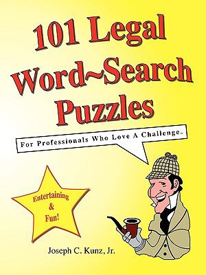 101 Legal Word-Search Puzzles 9781933230351