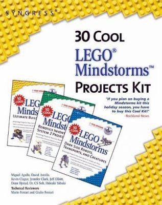 30 Cool Lego Mindstorms Project Kit 3 Book Set: Amazing Projects You Can Build in Under an Hour [With CDROM] 9781931836623