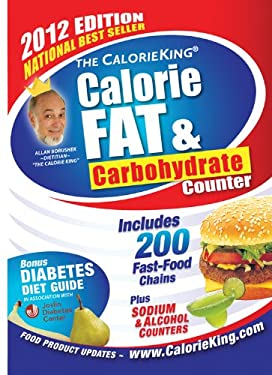 The CalorieKing Calorie, Fat, & Carbohydrate Counter 9781930448360