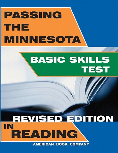 Passing the Minnesota Basic Skills Test in Reading