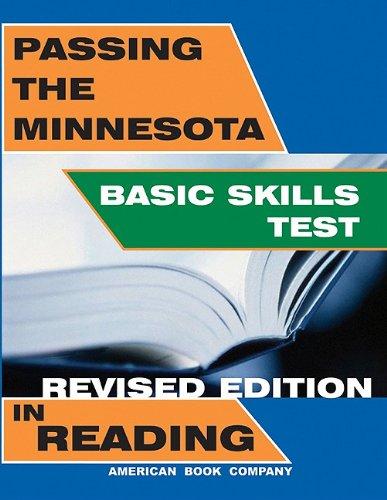 Passing the Minnesota Basic Skills Test in Reading
