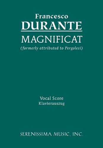 Magnificat - Vocal Score 9781932419511