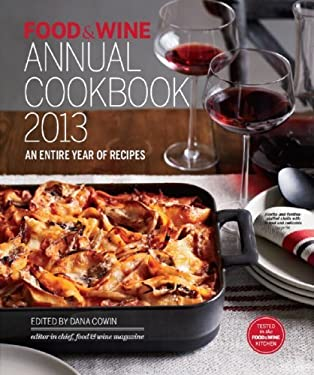 Food and Wine Annual Cookbook 2013 9781932624540