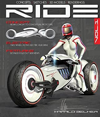 Ride: Futuristic Electric Motorcycle Concept 9781933492766