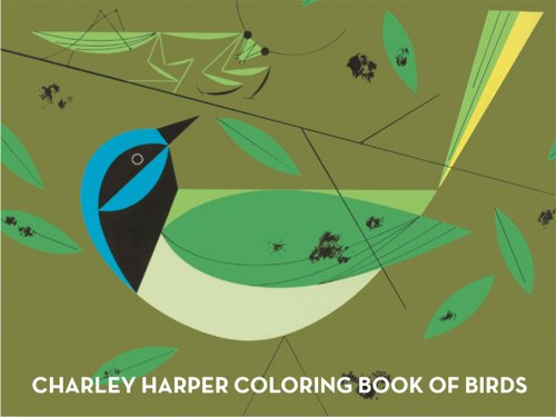 Charley Harper Coloring Book of Birds 9781934429426