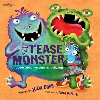 The Tease Monster: (a Book About Teasing vs Bullying)