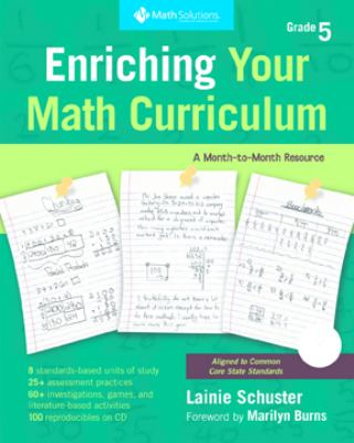Enriching Your Math Curriculum: Grade 5: A Month-To-Month Resource 9781935099024