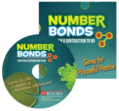 Number Bonds: Addition & Subtraction to 99: Games for Purposeful Practice 9781935502173