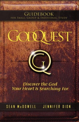 Godquest Guidebook: Discover the God Your Heart Is Searching for 9781935541332