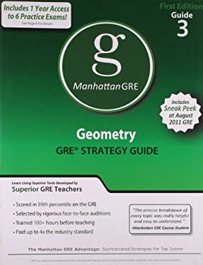 Geometry GRE Preparation Guide 9781935707042