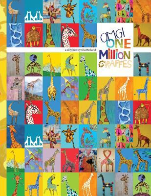 One Million Giraffes Coloring Book 9781935734277