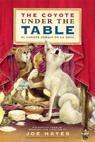 The Coyote Under the Table/El Coyote Debajo de La Mesa: Folk Tales Told in Spanish and English 9781935955061