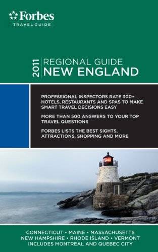 Forbes Travel Guide: New England 9781936010875