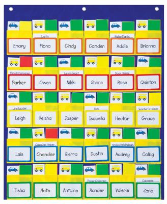 Classroom Management Pocket Chart 9781936022946