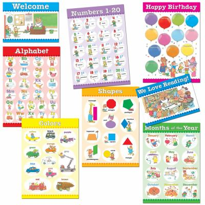 Richard Scarry's Busytown - Early Learning Essentials Bulletin Board Set 9781936024001
