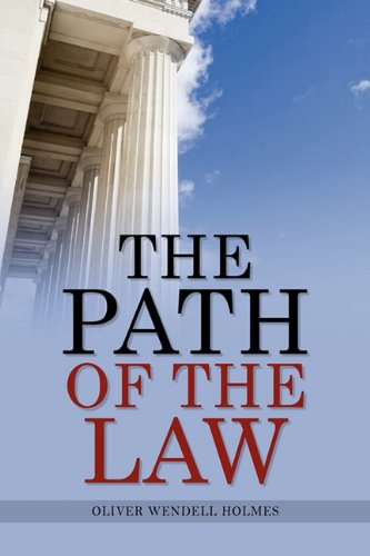 The Path of the Law 9781936041961