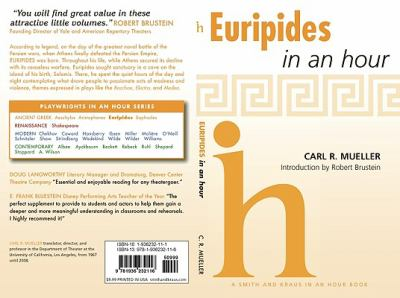 Euripides in an Hour 9781936232116