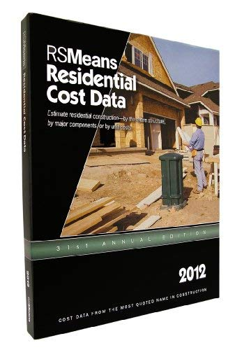 RSMeans Residential Cost Data 9781936335459