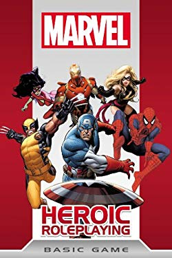 Marvel Heroic Roleplay Basic Game 9781936685165