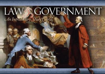 Law & Government: An Introductory Study Course [With CD (Audio) and DVD and Study Guide] 9781937460075