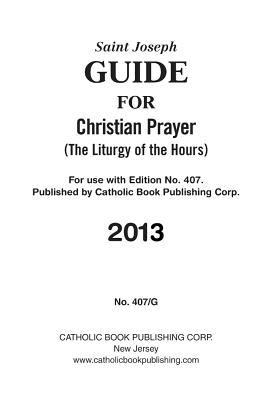 Guide for Christian Prayer: Large Type Edition 9781937913359