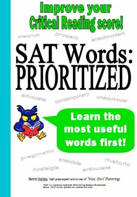 SAT Words--Prioritized 9781938464003
