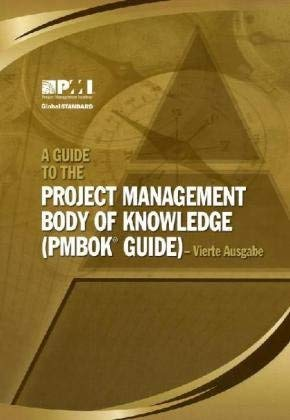 A Guide to the Project Management Body of Knowledge (PMBOK Guide) 9781933890661