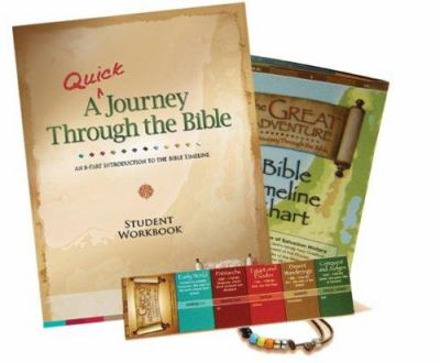 A   Quick Journey Through the Bible Student Pack: An 8-Part Introduction to the Bible Timeline [With Memory Bead Wristband and Student Workbook and Fu 9781934217177