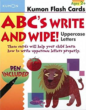 ABC's Write and Wipe!: Uppercase Letters [With Pen]