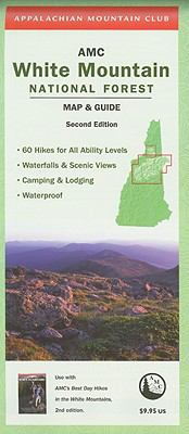 AMC White Mountain National Forest Map & Guide 9781934028483